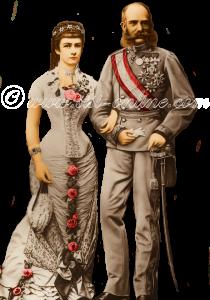Elisabeth en Franz Joseph zijn 25 jaar getrouwd.