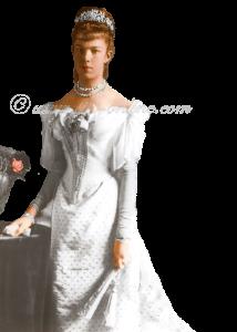 Marie Valerie, toen ze afstand tekende van de troon