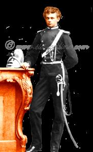 Max Emanuel, de jongste broer van Elisabeth