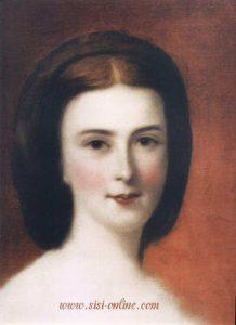 Elisabeth, geschilder door Franz Schrotzberg