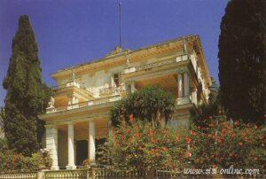 Het Achilleion op Corfu.