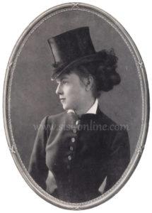 Marie Larisch als jonge vrouw